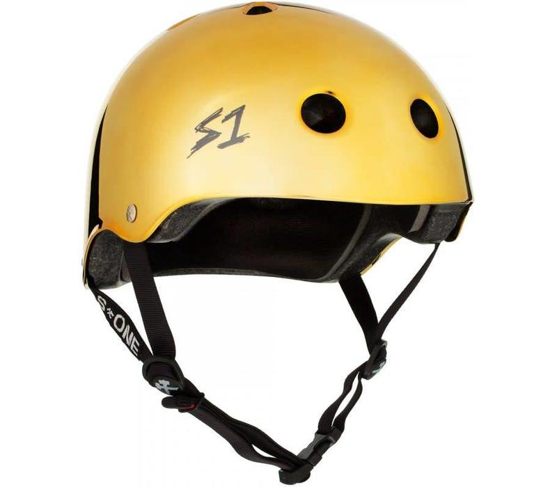 S1 Lifer Helmet Gold Gloss Mirror