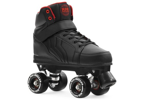 Rio Roller Rio Kicks Black Roller Skates