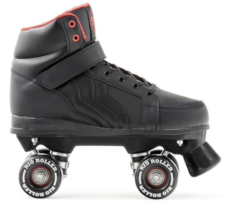 Rio Kicks Black Roller Skates