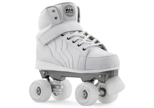 Rio Roller Rio Kicks White Roller Skates