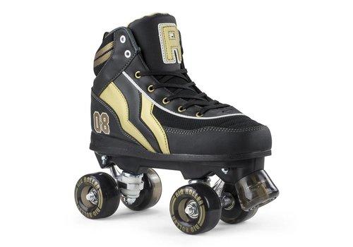 Rio Roller Rio Varsity Black/Gold Roller Skates