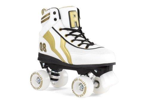 Rio Roller Rio Varsity White/Gold Roller Skates