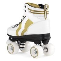 Rio Varsity White/Gold Roller Skates