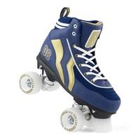 Rio Varsity Blue/Gold Roller Skates