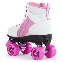 Rio Pure White/Pink Roller Skates