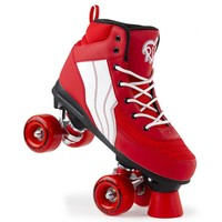 Rio Pure Red/White Roller Skates
