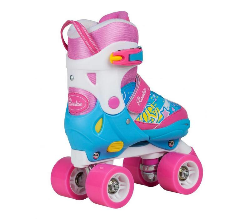 Rookie Adjustable Fab Roller Skates  - Size 25.5 - 29 EU