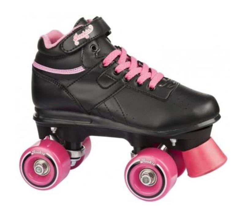 Rookie Odyssey Black/Pink Roller Skates