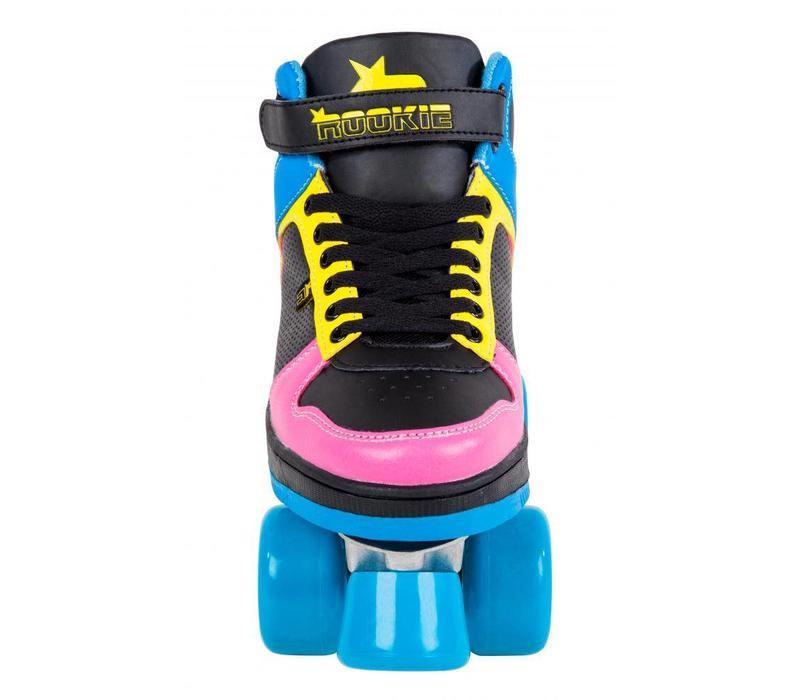 Rookie Hype Black/Blue Roller Skates