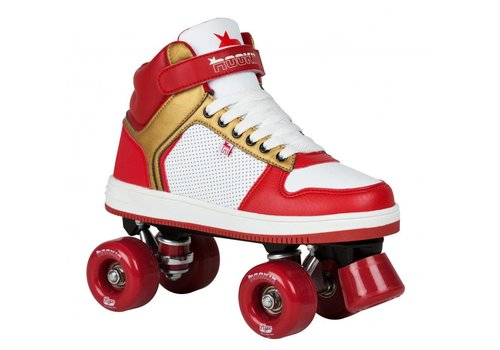 Rookie Rookie Hype Red/Gold Roller Skates