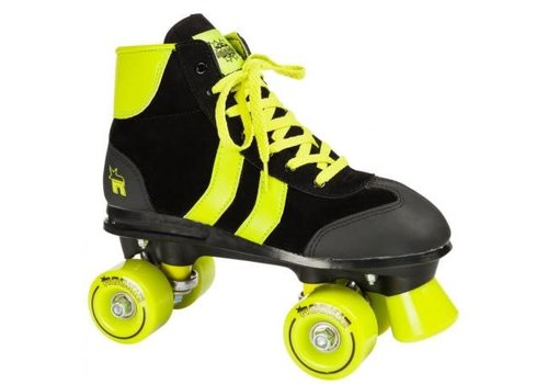 Rookie Rookie Retro** Black/Lime Roller Skates