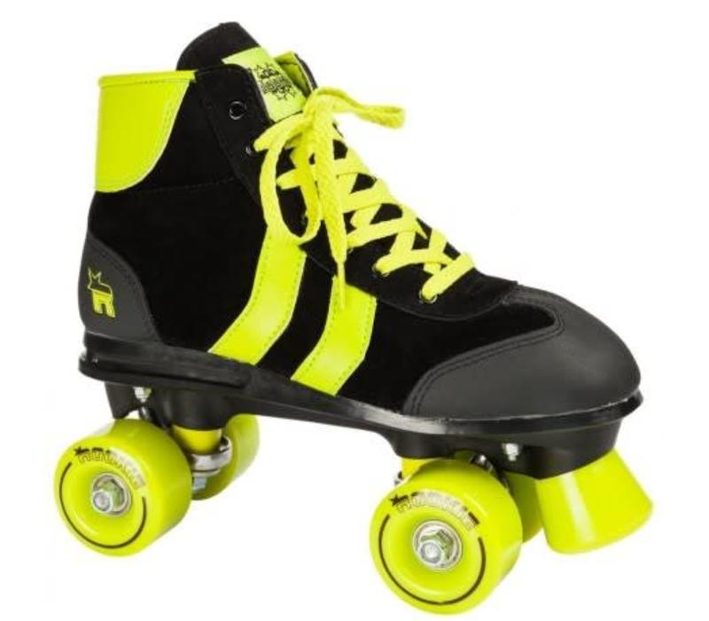 Rookie Retro** Black/Lime Roller Skates