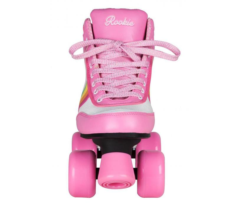 Rookie Forever Rainbow Pink Roller Skates