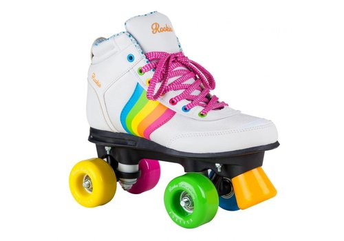 Rookie Rookie Forever Rainbow White Roller Skates