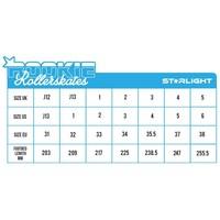 Rookie Starlight Roller Skates - Size 33