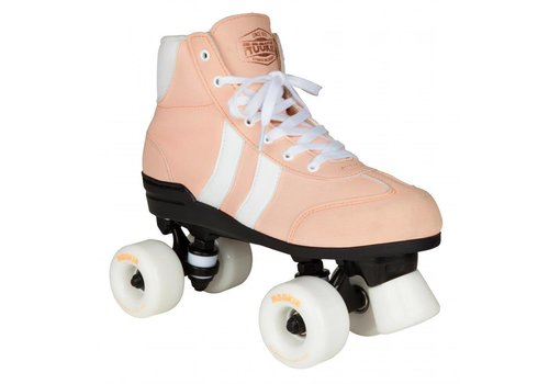 Rookie Rookie Authentic Pink/White Roller Skates