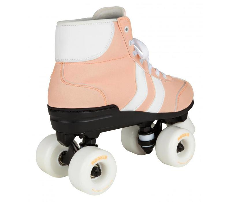 Rookie Authentic Pink/White Roller Skates