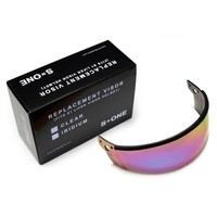 S1 Lifer Replacement Visor - Iridium Gradient Mirror