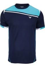 VICTOR T-Shirt Function Unisex blauw 6967
