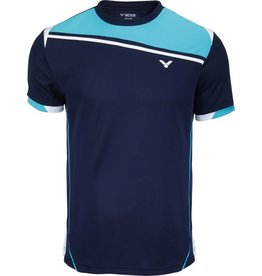 VICTOR T-Shirt Function Unisex blauw 6966
