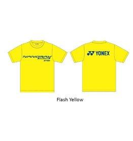 Yonex T-SHIRT 16270EX NANORAY YELLOW