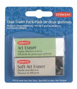 Derwent  Derwent dual eraser pack