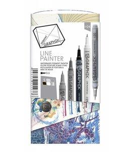 Derwent Graphik Graphik Line Painter Palette 4