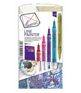 Derwent Graphik Graphik Line Painter Palette 3