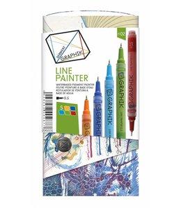 Derwent Graphik Derwent Graphik Line Painter (palet 2)
