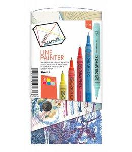 Derwent Graphik Derwent Graphik Line Painter (palet 1)