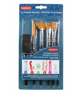 Derwent  Technik Pinsel Set