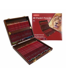 Derwent  Derwent Pastel 48 pastel potloden in houten kist