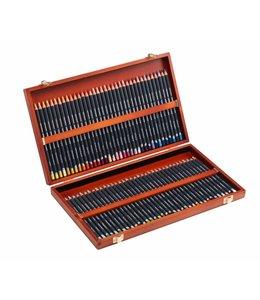 Derwent  Procolour Holzkiste mit 72 Stiften
