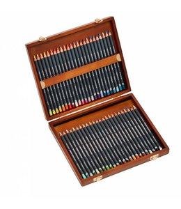 Derwent  Derwent Procolour houten kist met 48 potloden