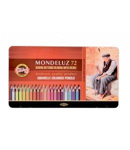 Koh I Noor MONDELUX Aquarelpotood 3727 72 Stifte