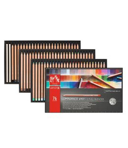 Caran d'Ache LUMINANCE 6901® - assortimento di 76 colori