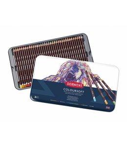 Derwent  Coloursoft 36 Stifte in der Dose