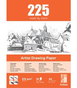 Schut papier Schut Künstler Zeichenpapier A4 225 g