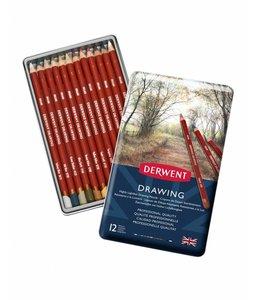 Derwent  Zeichnung 12 Zeichnung Bleistifte in Dosen