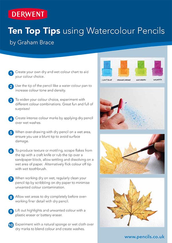 Top 10 Tips Colourpencils