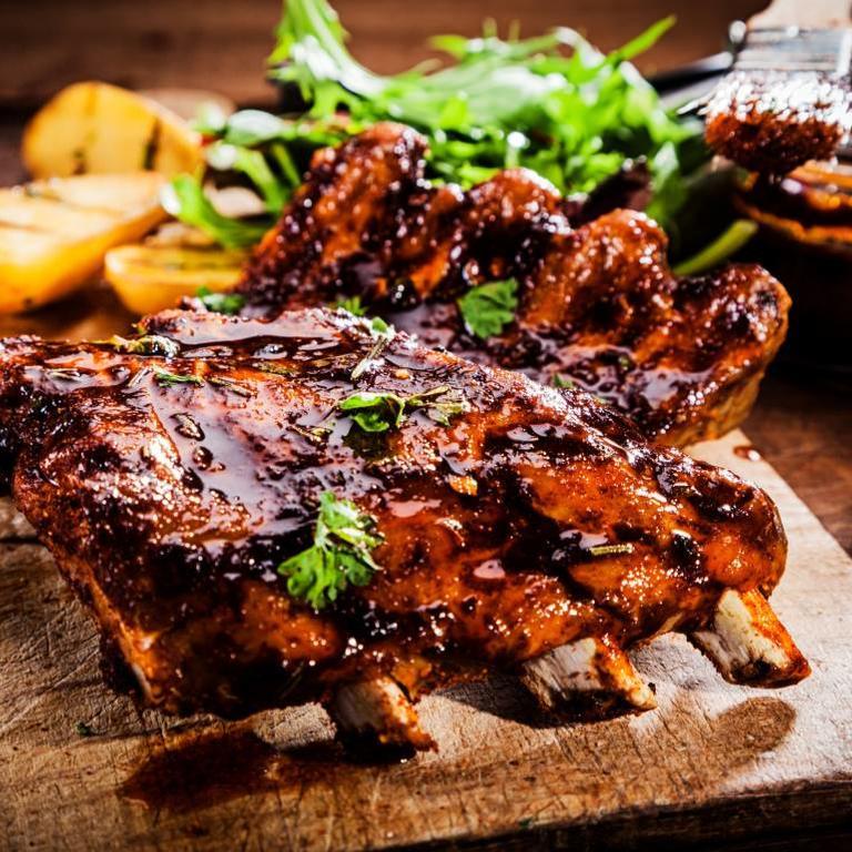 LeJean Ibérico varkens belly ribs
