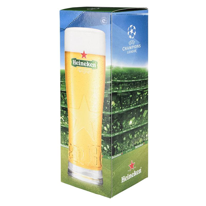 Heineken UEFA Champions League Glass in Giftbox