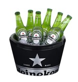 Heineken Double Walled Ice Bucket Black