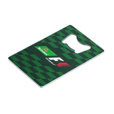 Heineken Apribottiglie a scheda Formula 1