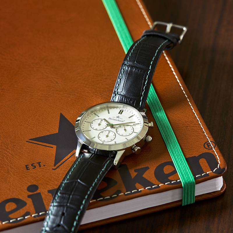 Heineken Luxury Watch in Gift Box