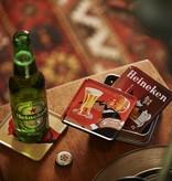 Heineken Set sottobicchieri birra in metallo