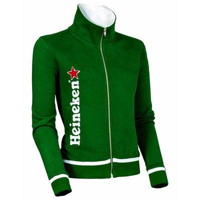 Heineken Felpa verde Donna