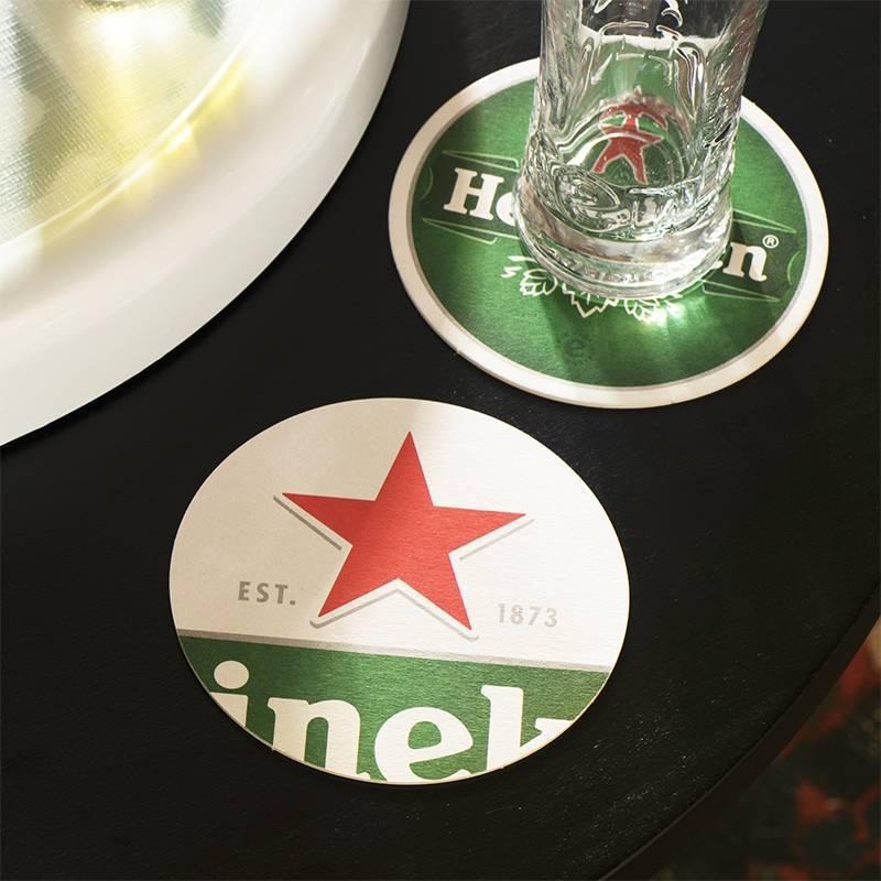 Heineken Coasters