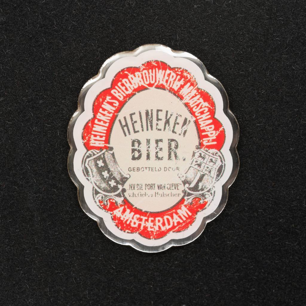 Heineken Magneti: etichetta Amsterdam 1873
