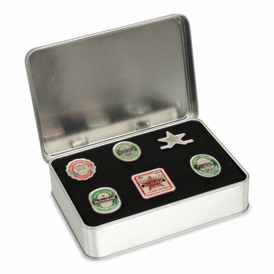 Heineken EPISODE PIN BOX (INCL. 6 PINS)